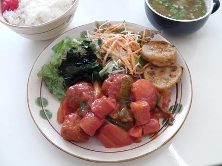 肉団子のケチャップ煮