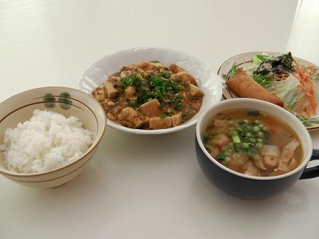 中華定食(麻婆豆腐)