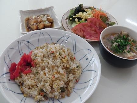 中華定食(炒飯)