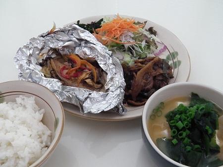 和定食(魚ホイル焼)