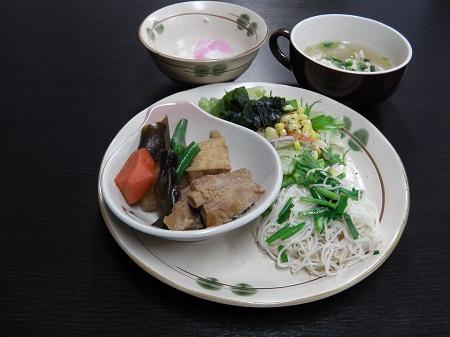 沖縄定食(煮物)