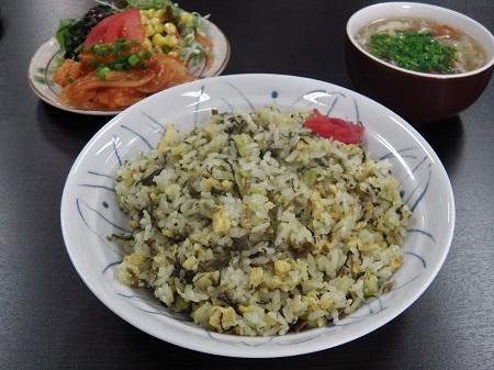 中華定食(チャーハン)